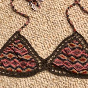 Acacia Swimwear Navajo bikini top Medium